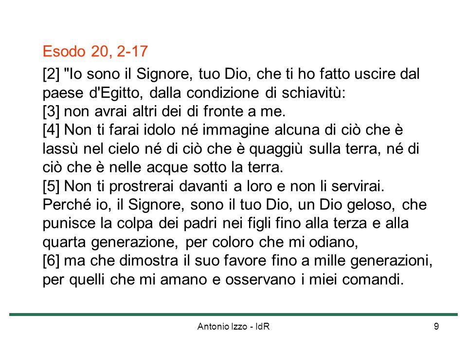 Esodo 20, 2-17
