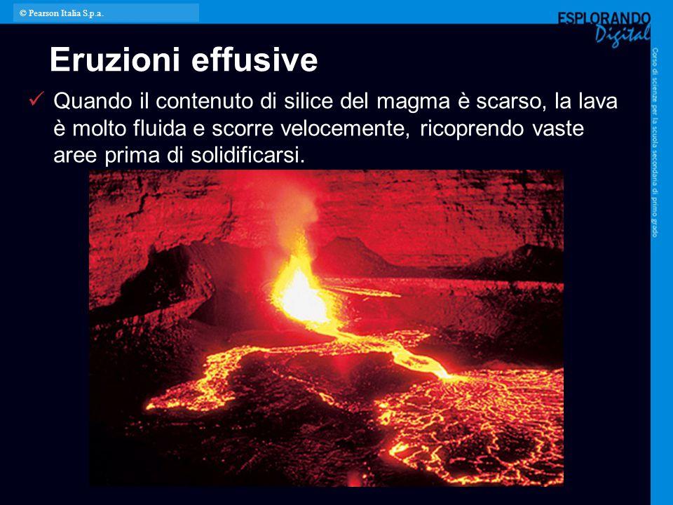 © Pearson Italia S.p.a. Eruzioni effusive.