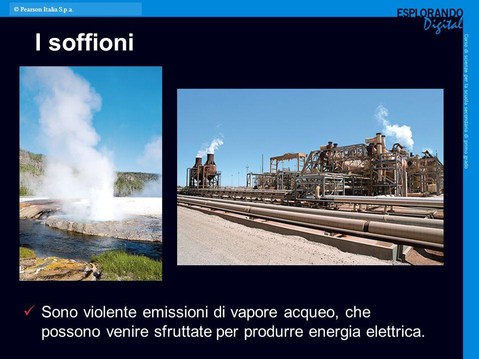 © Pearson Italia S.p.a. I soffioni. Per l'insegnante:
