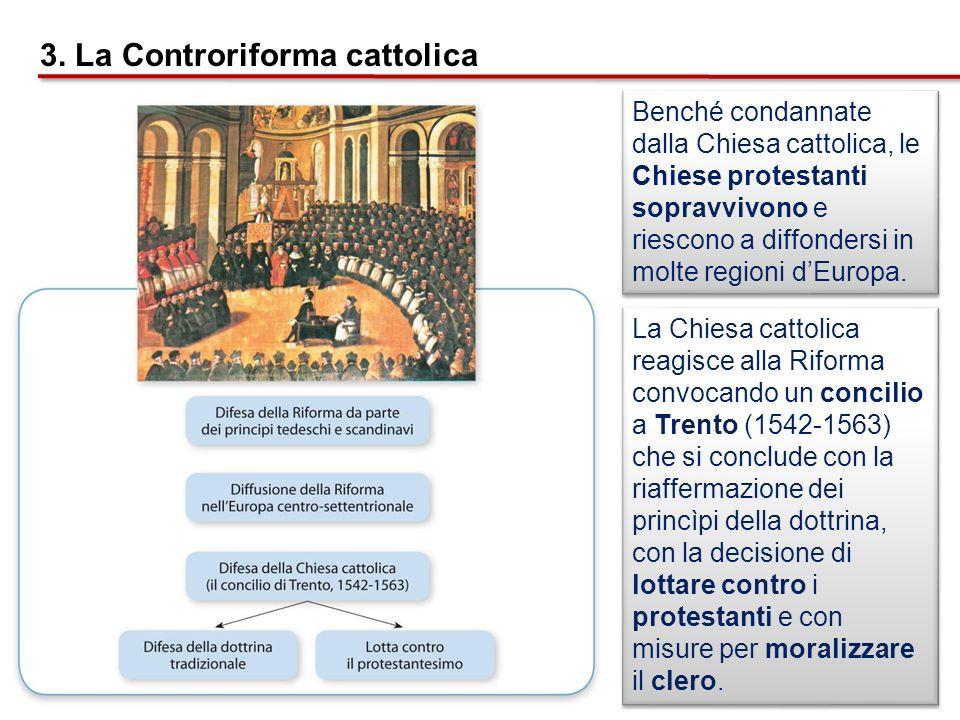 3. La Controriforma cattolica