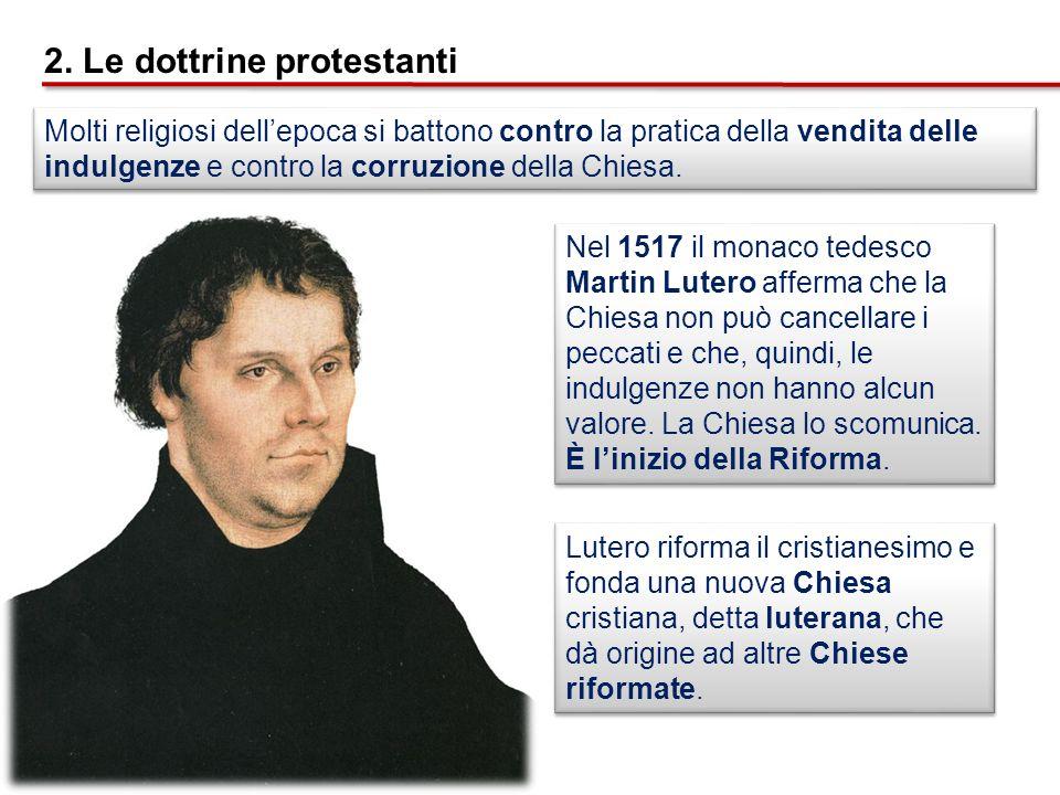 2. Le dottrine protestanti