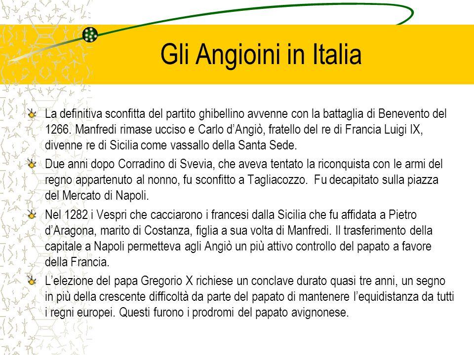 Gli Angioini in Italia