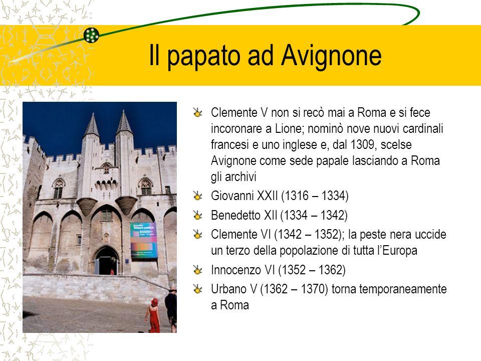 Il papato ad Avignone