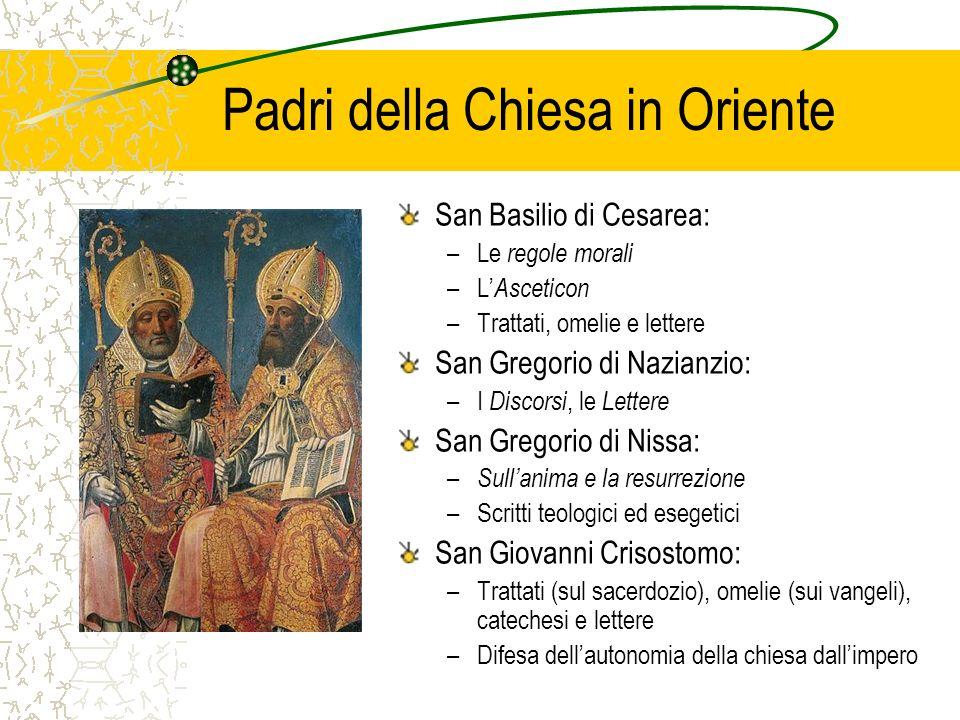 Padri della Chiesa in Oriente