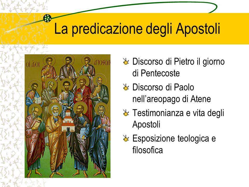 La predicazione degli Apostoli