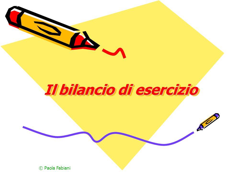 Il bilancio di esercizio