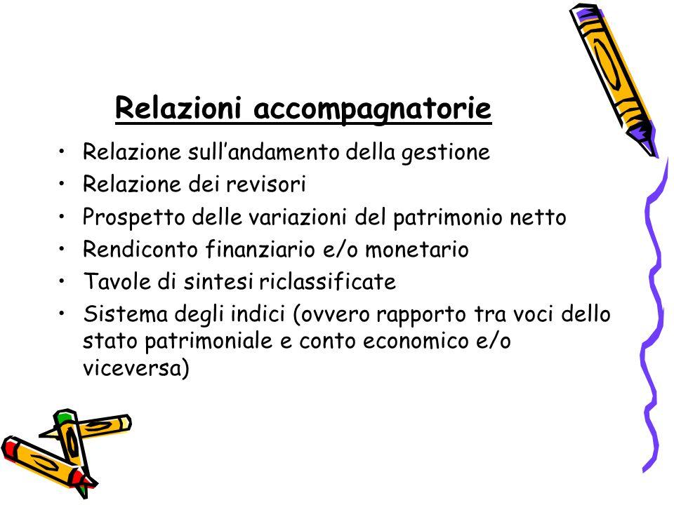 Relazioni accompagnatorie