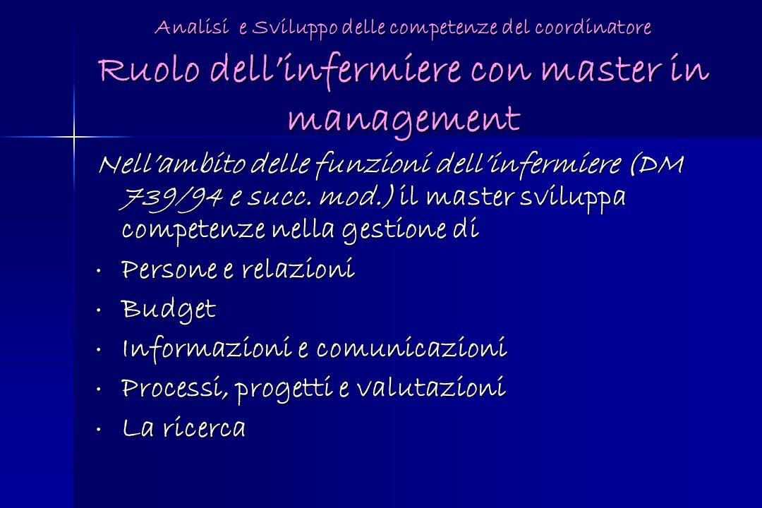 Informazioni e comunicazioni Processi, progetti e valutazioni