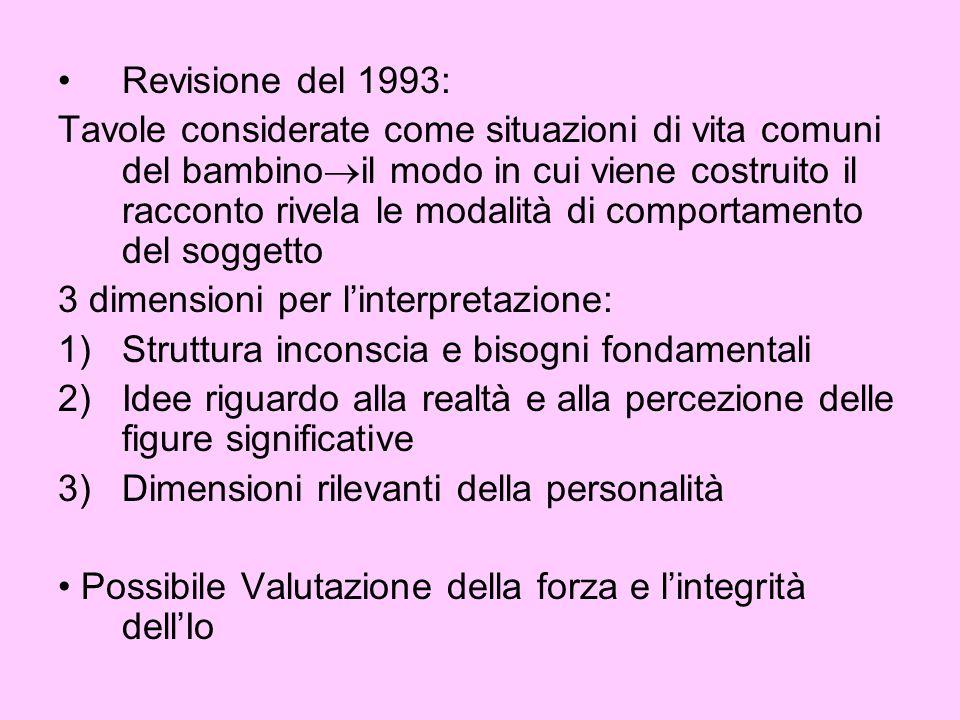 Revisione del 1993: