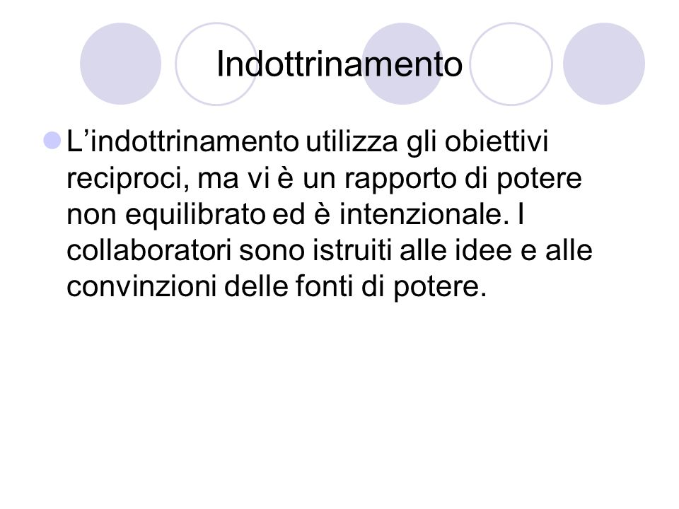 Indottrinamento