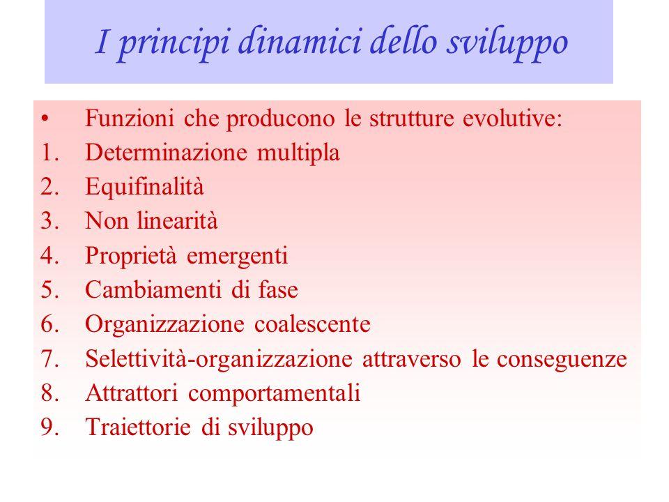I principi dinamici dello sviluppo