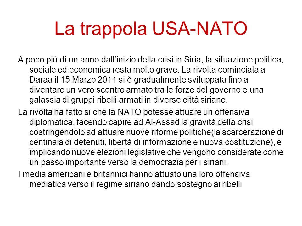 La trappola USA-NATO