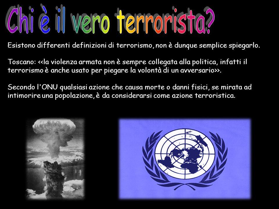Chi è il vero terrorista