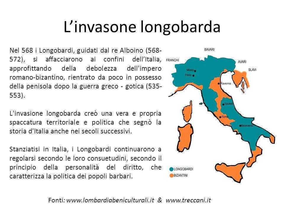 L'invasone longobarda