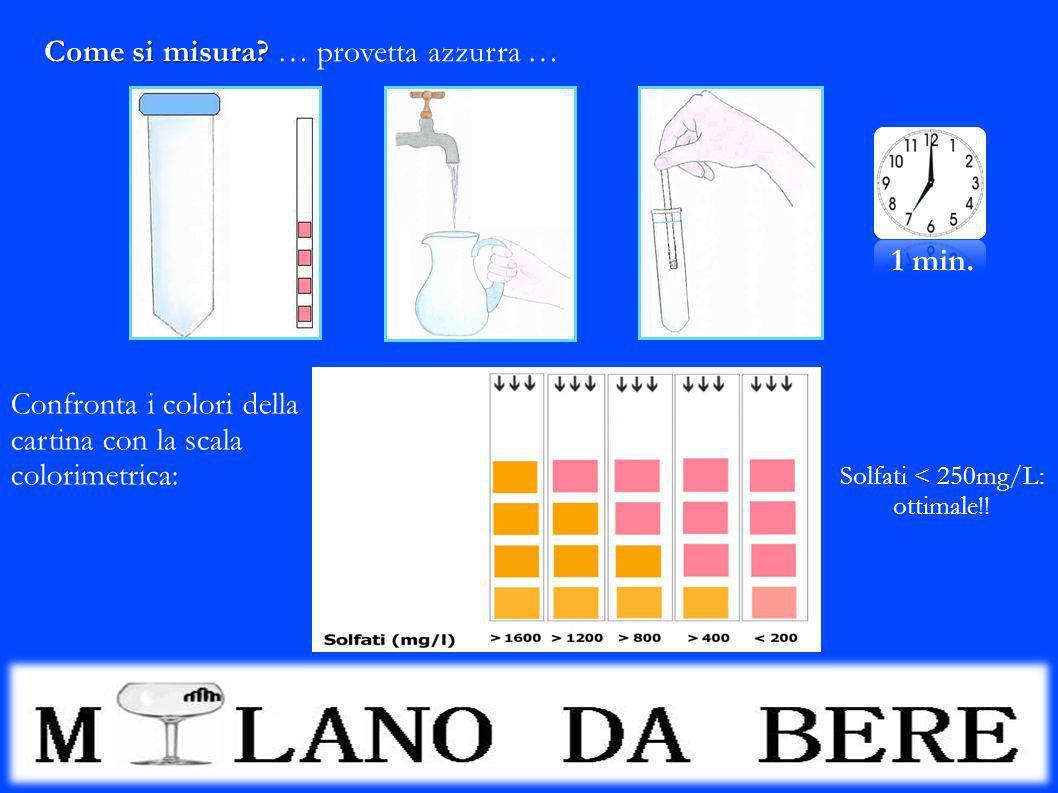Come si misura … provetta azzurra …
