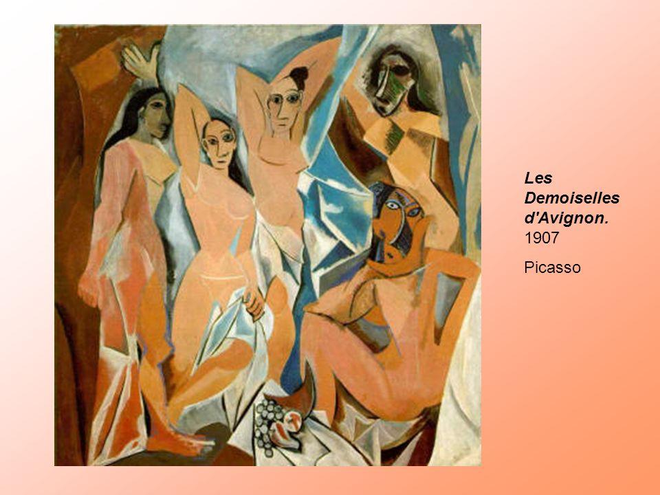 Les Demoiselles d Avignon. 1907