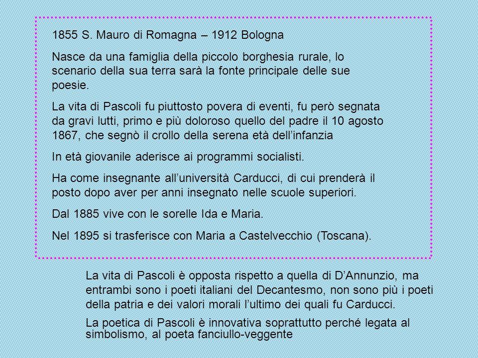 1855 S. Mauro di Romagna – 1912 Bologna