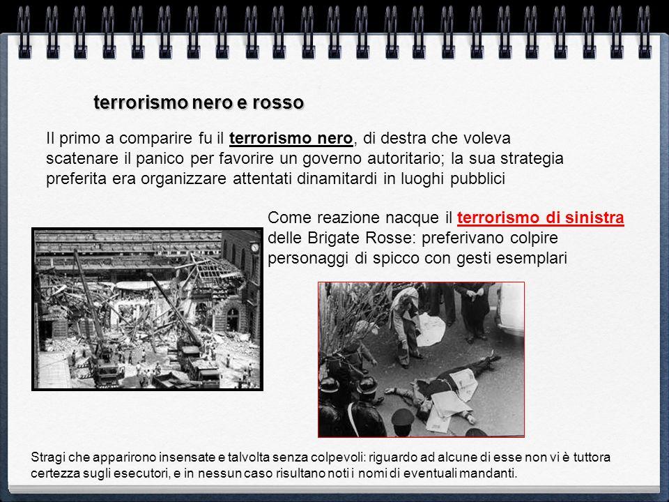 terrorismo nero e rosso
