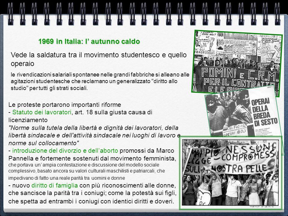 1969 in Italia: l' autunno caldo