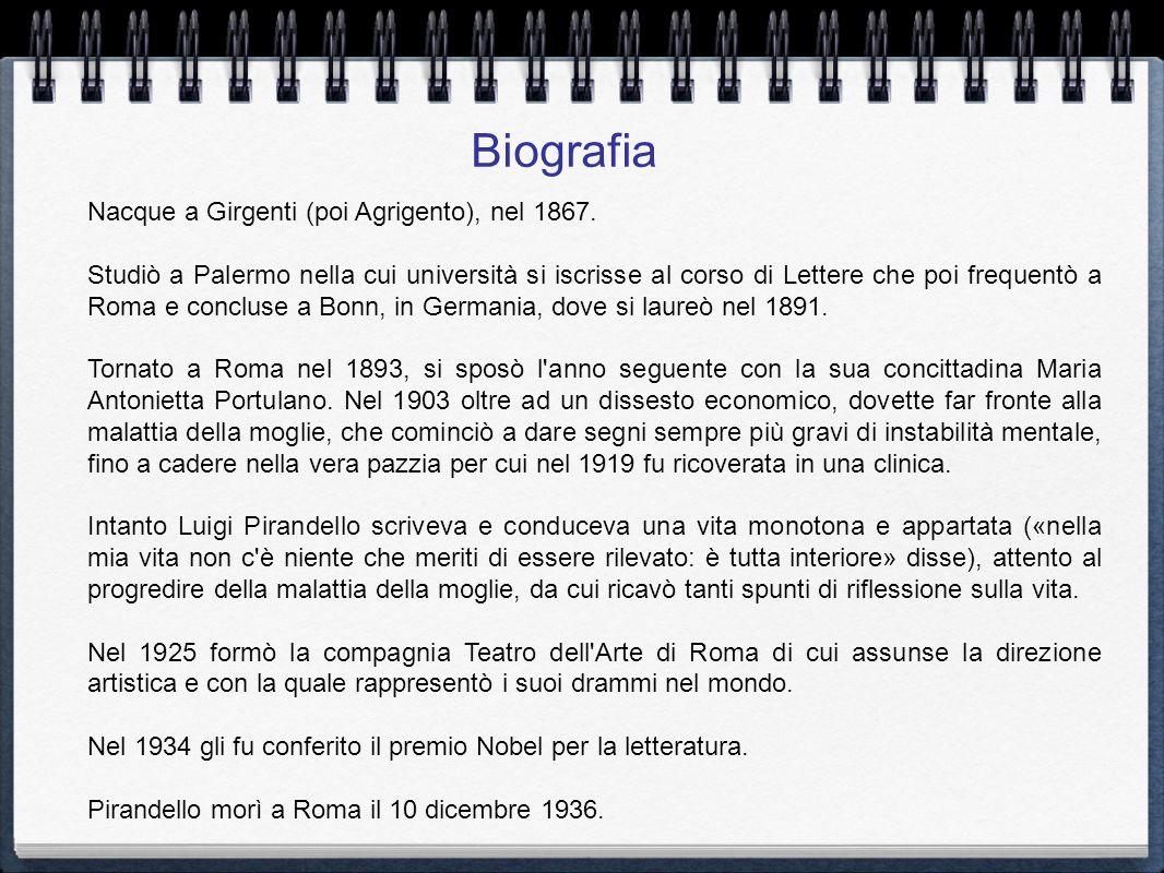 Biografia Nacque a Girgenti (poi Agrigento), nel 1867.
