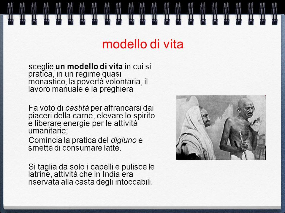 modello di vitasceglie un modello di vita in cui si pratica, in un regime quasi monastico, la povertà volontaria, il lavoro manuale e la preghiera.