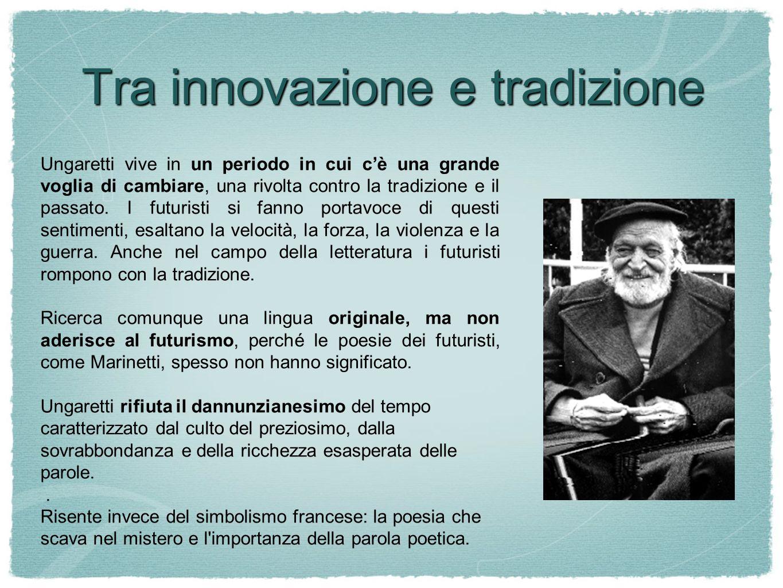 Tra innovazione e tradizione