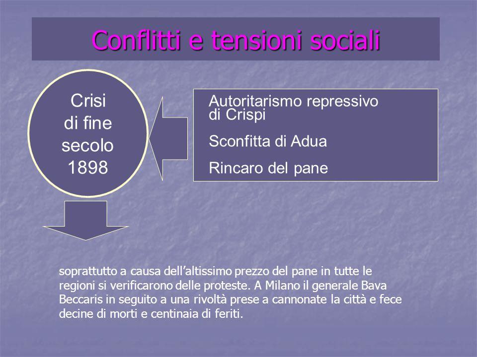 Conflitti e tensioni sociali