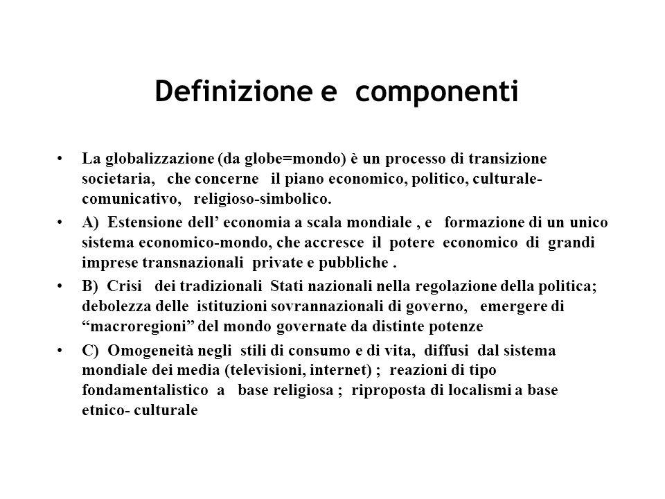 Definizione e componenti