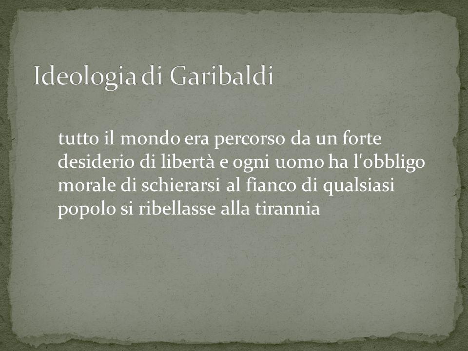 Ideologia di Garibaldi