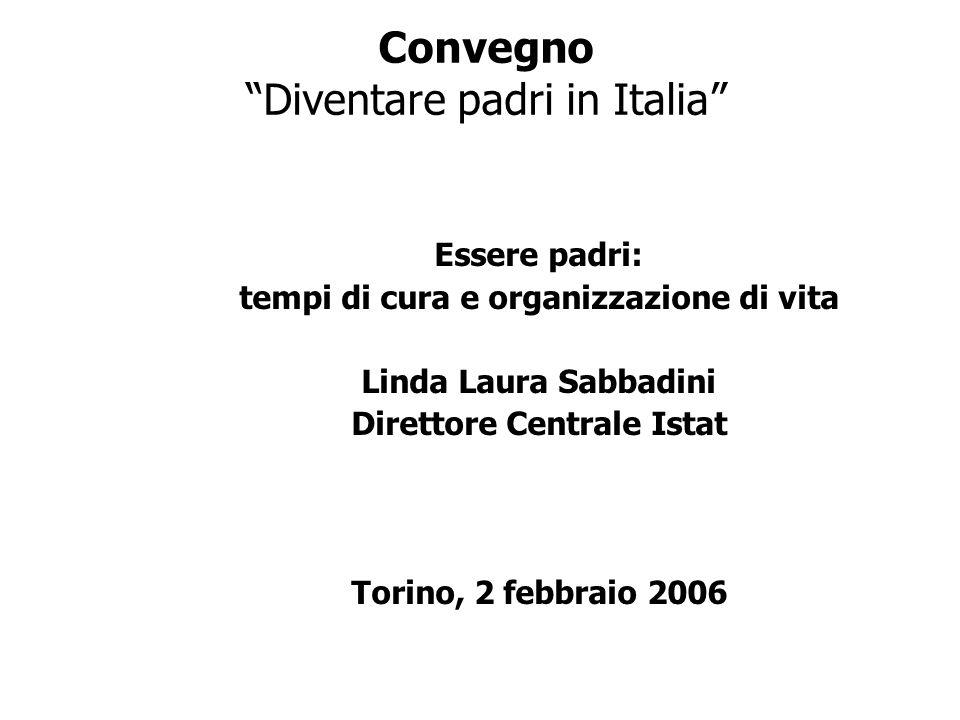 Convegno Diventare padri in Italia