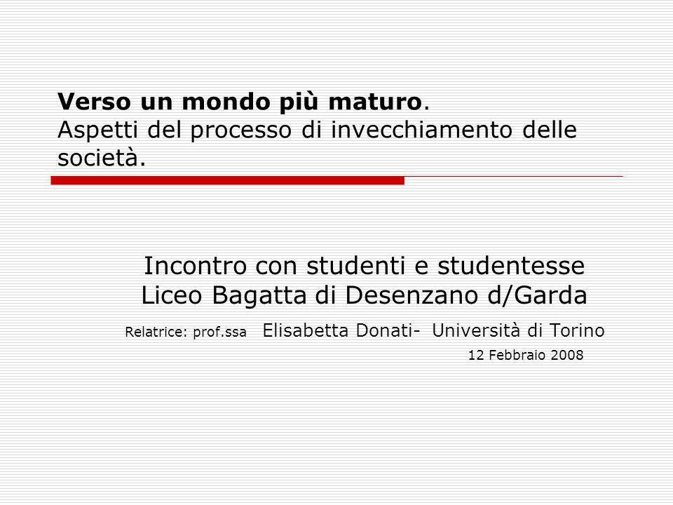 Incontro con studenti e studentesse Liceo Bagatta di Desenzano d/Garda