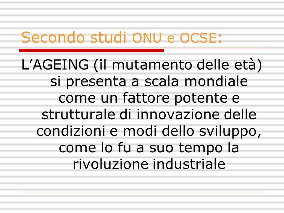Secondo studi ONU e OCSE: