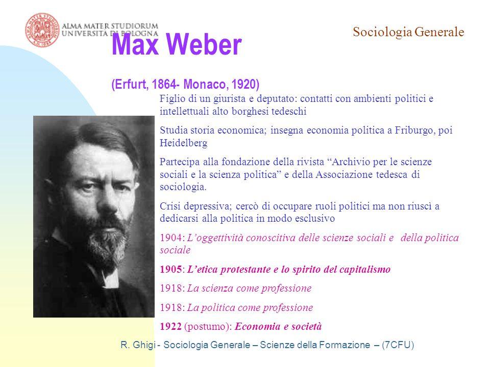 Max Weber (Erfurt, 1864- Monaco, 1920)