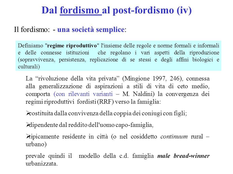 Dal fordismo al post-fordismo (iv)