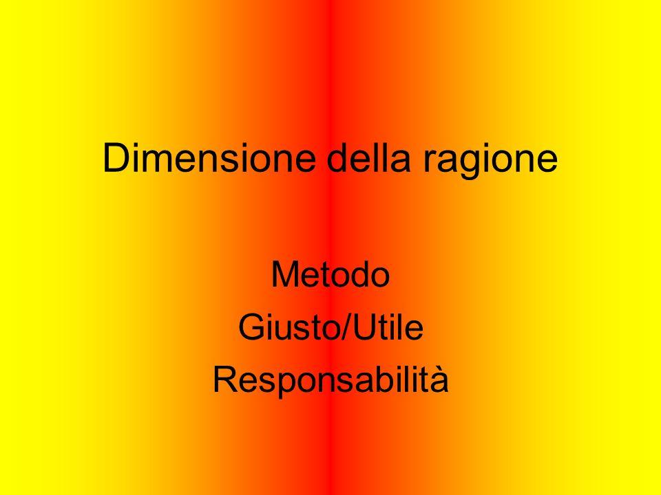 Dimensione della ragione