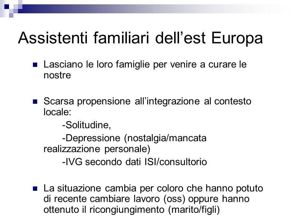 Assistenti familiari dell'est Europa