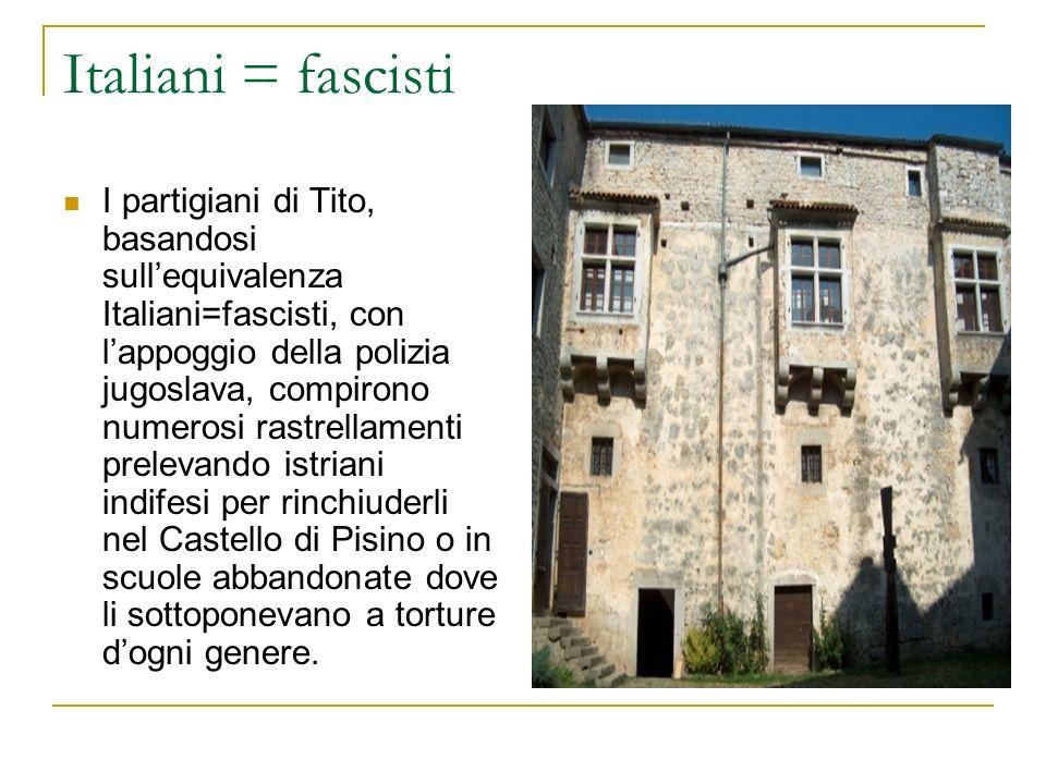 Italiani = fascisti