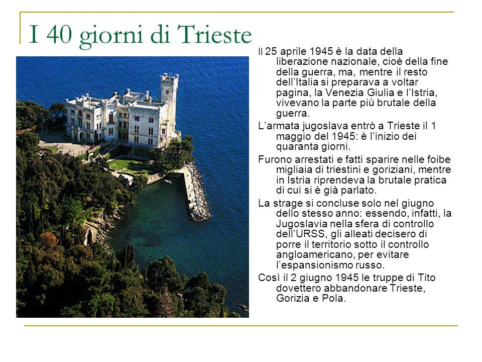 I 40 giorni di Trieste