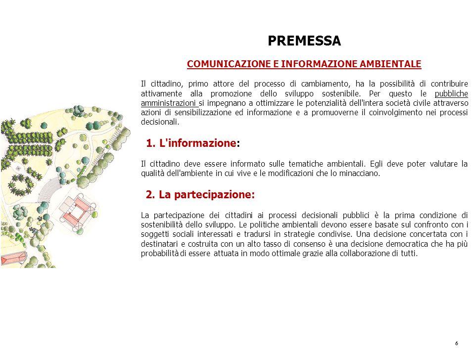 COMUNICAZIONE E INFORMAZIONE AMBIENTALE