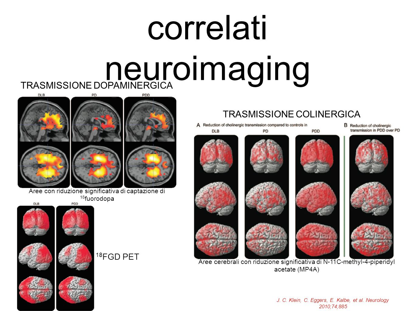 correlati neuroimaging