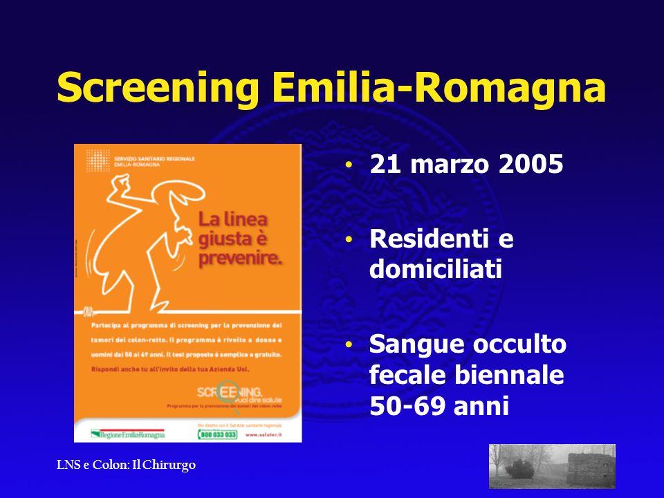 Screening Emilia-Romagna