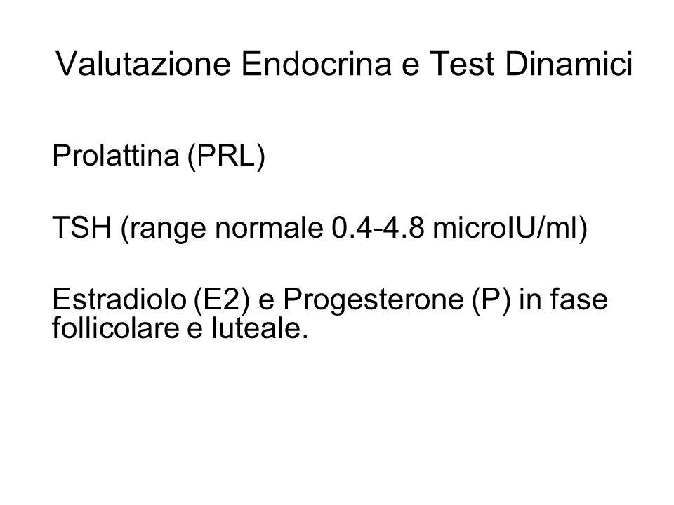 Valutazione Endocrina e Test Dinamici