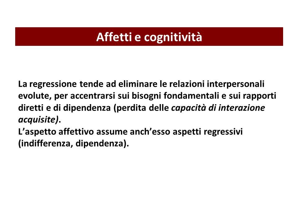 Affetti e cognitività