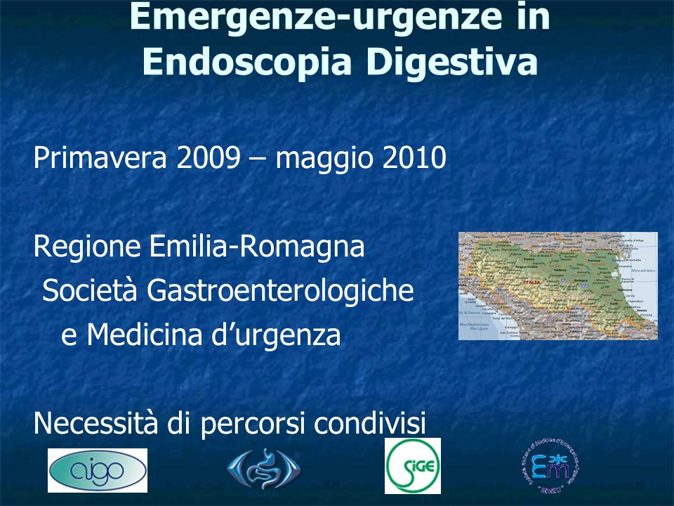 Emergenze-urgenze in Endoscopia Digestiva