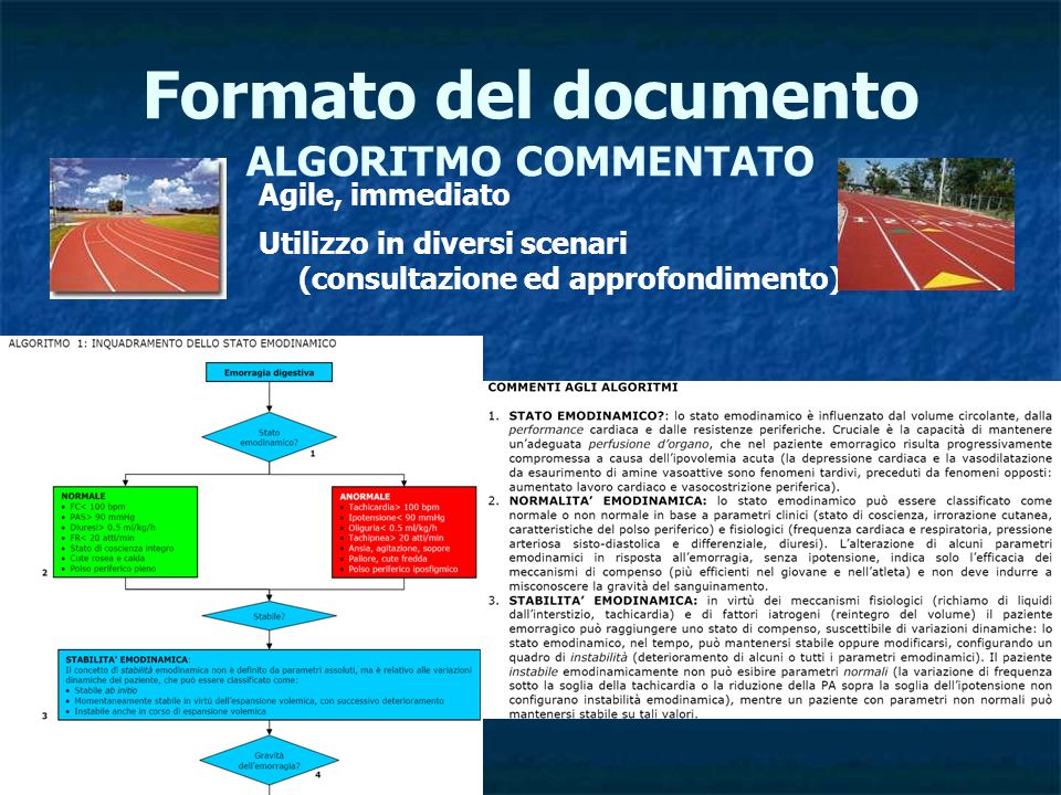 Formato del documento ALGORITMO COMMENTATO