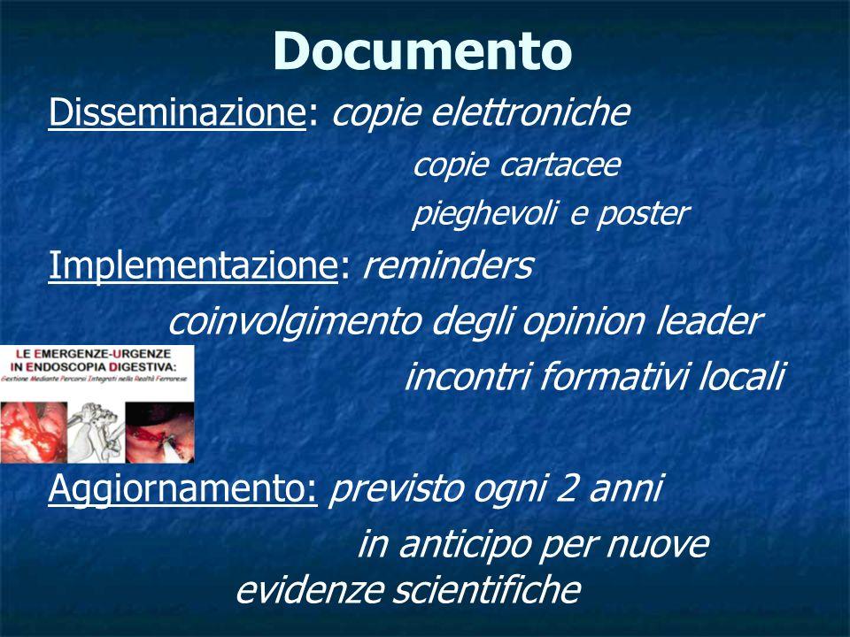 Documento Disseminazione: copie elettroniche