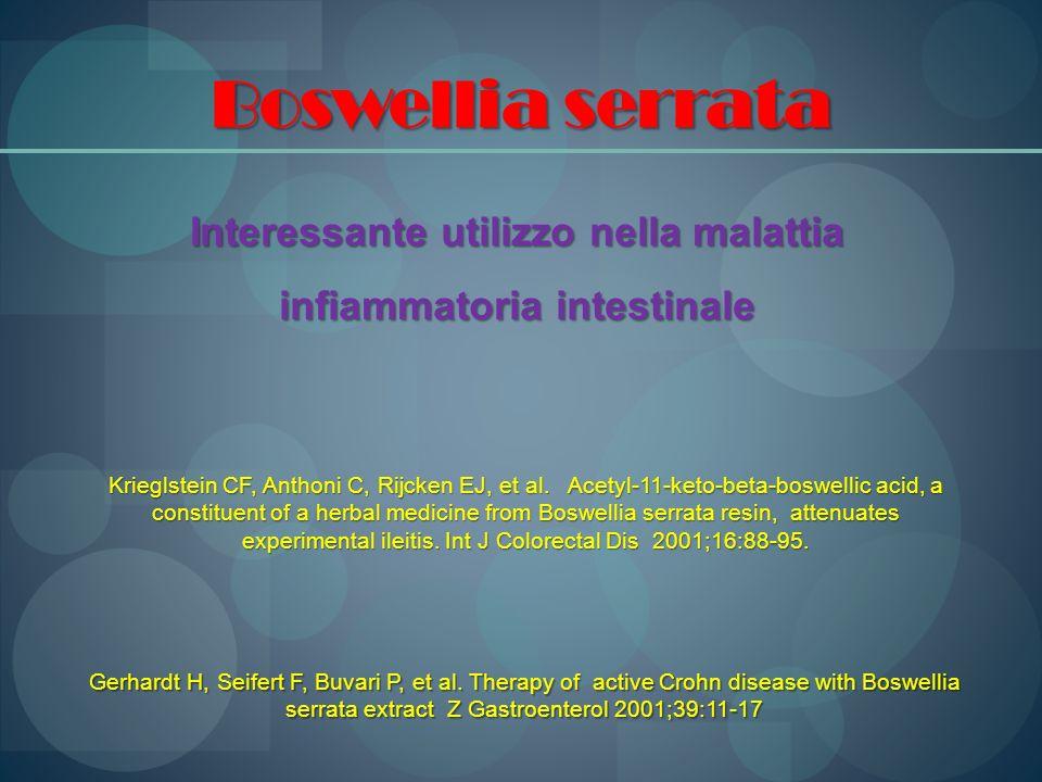 Interessante utilizzo nella malattia infiammatoria intestinale