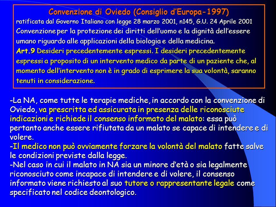 Convenzione di Oviedo (Consiglio d'Europa-1997)