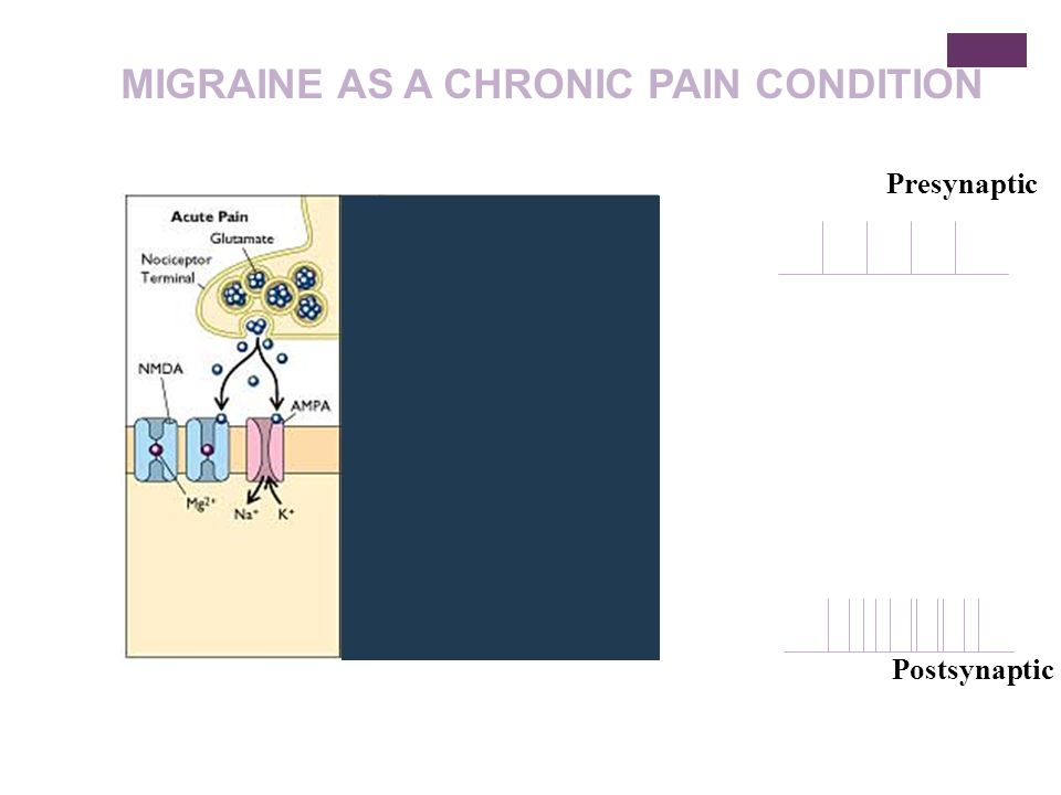 MIGRAINE AS A CHRONIC PAIN CONDITION