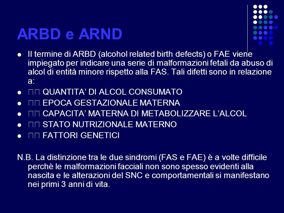 ARBD e ARND